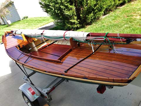 Melonseed skiff, 2009, Sweetwater, Tennessee, sailboat for ...