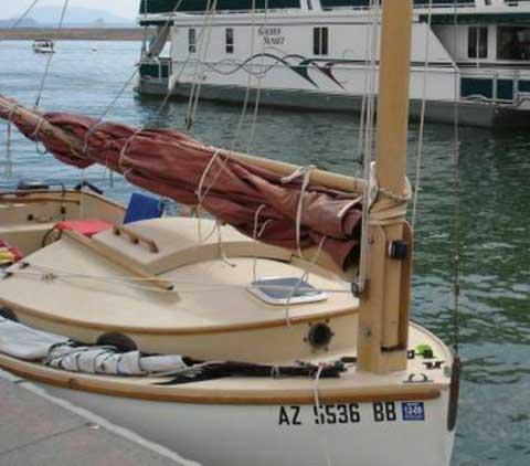Menger Catboat 19', 1991 sailboat