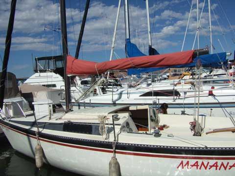 Merit 23, 1985 sailboat