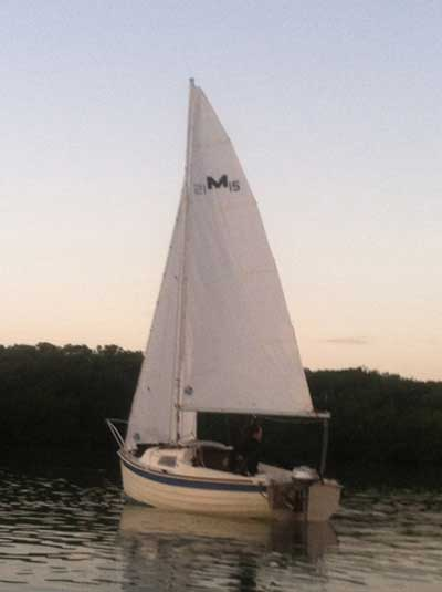 Montgomery 15, 1984 sailboat