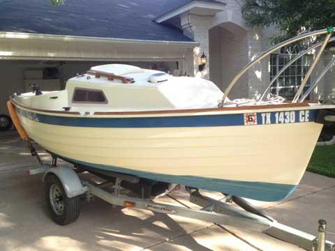 Montgomery 15, 1984 sailboat