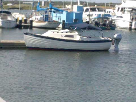 Montgomery 17, 1984 sailboat