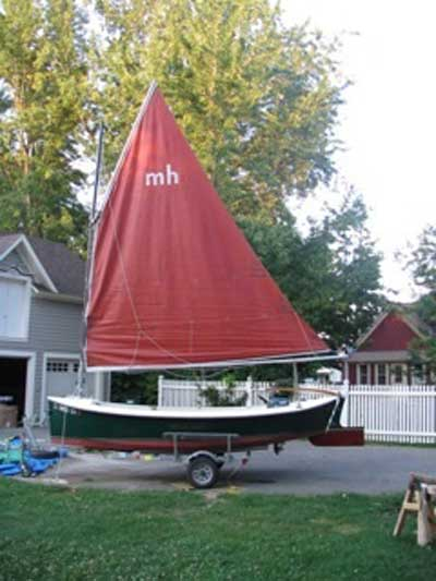 Florida Bay Mudhen, 1996, Plainview, Minnesota sailboat