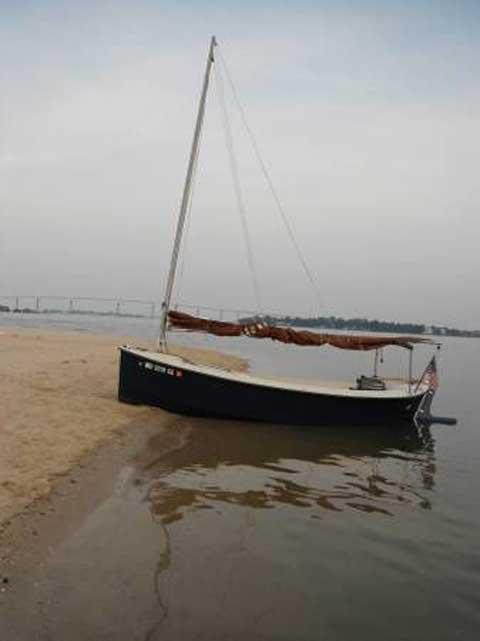 Mud Hen, 1986, sailboat