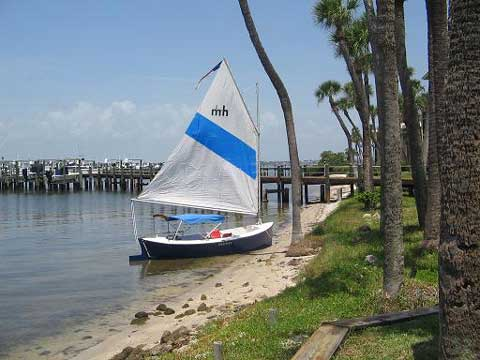 Florida Bay Mud Hen, 1985 sailboat