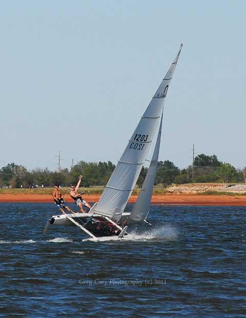 Nacra 5.8, 1990 sailboat