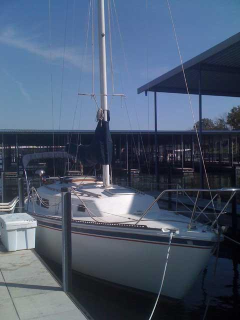 Newport 30, 1977 sailboat