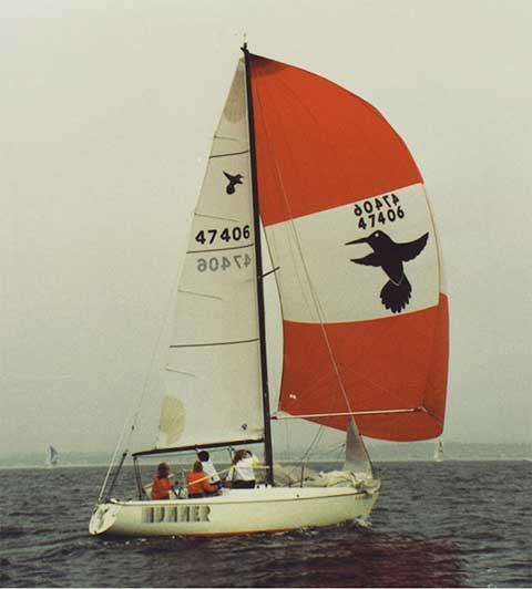 Nightingale 24, 1974 sailboat