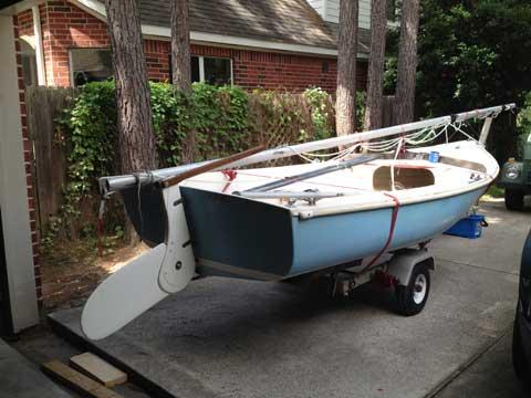 O'Day 15', 1970s sailboat