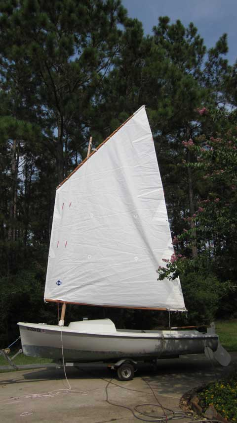 O'Day Daysailer 17', 1989, Magnolia, Texas sailboat