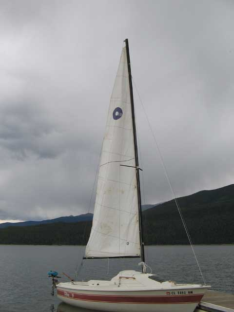 O'day 19, 1980 sailboat