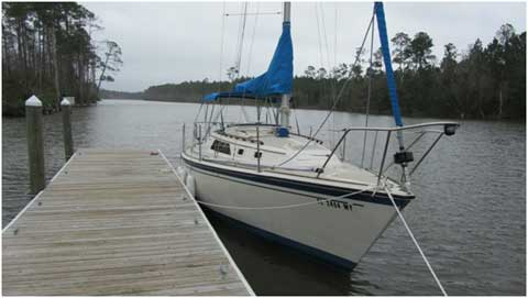 O'Day 28, 1984 sailboat