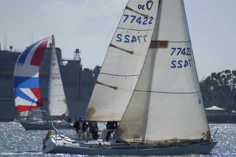 Olson 30, 1980 sailboat