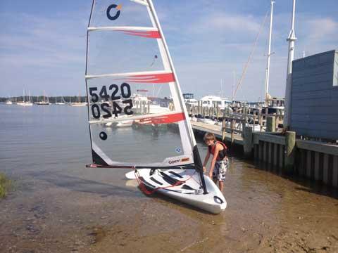 O'pen Bic, 2012 sailboat