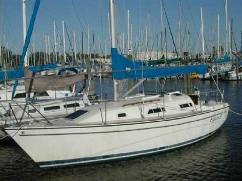 Pearson 27, 1988 sailboat