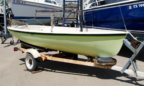 Chrysler Pirateer, 1980 sailboat
