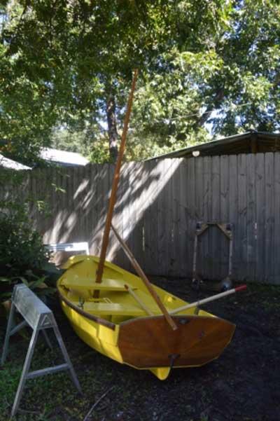 Pram, Houston, Texas sailboat