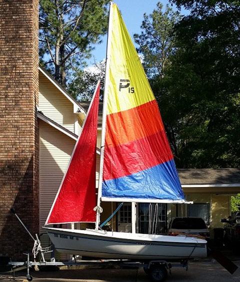 Precision 15, 1995 sailboat