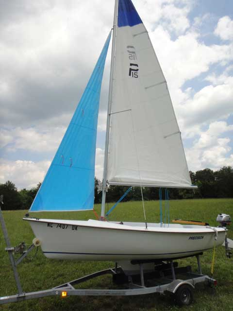 Precision 15K, 2008 sailboat