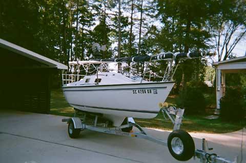 Precision 18, 2007 sailboat