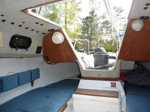 Precision 21, 1996 sailboat