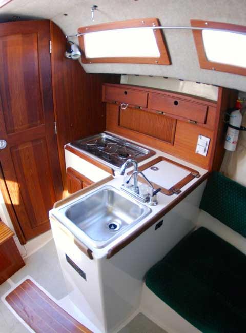 Precision 28, 1994 sailboat