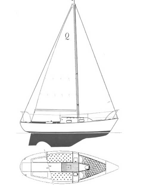 quickstep 24  1989  lewes  delaware  sailboat for sale