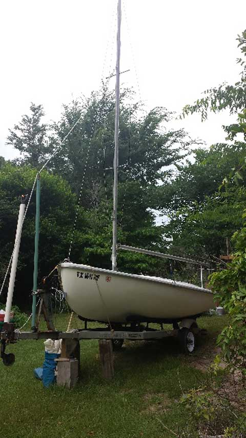 Rebel 16, 1960 sailboat