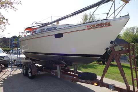 S2 8.0, 26ft., 1979 sailboat