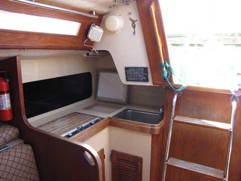 S2 9.1 METER RACER/CRUISER SAILBOAT, 1984 sailboat