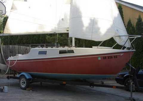 San Juan 21, 1976 sailboat