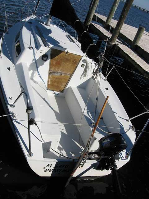 Santana 2023c 1993 Biloxi Mississippi Sailboat For