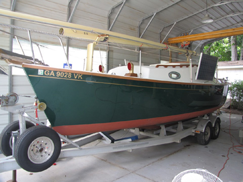 SeaPearl 28, 1991 sailboat
