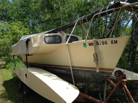 Searunner Trimaran, 25ft., 1981 sailboat