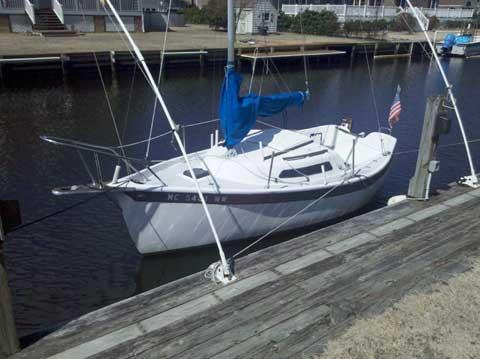 Seaward Fox 17', 1989, sailboat