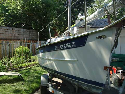 Seaward Fox 20 ft., 1998 sailboat