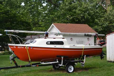 Siren 17, 1981 sailboat