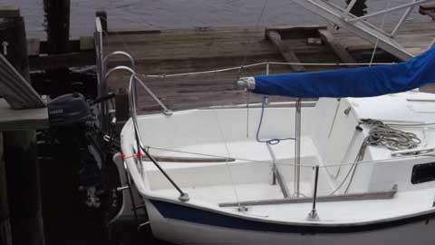Seaward (Starboard) Slipper 17, 1983 sailboat