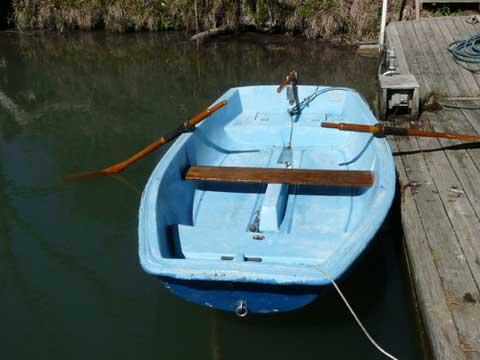 Boston Whaler Squall Dinghy, 9ft., 1970s sailboat