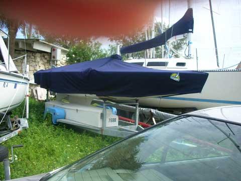 Star class sailboat 22' 7