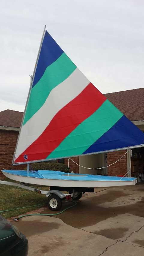 Fillip Starfish, 1970s sailboat