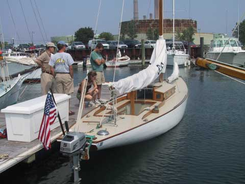 Stevens S type Racer, 29 ft., 1947 sailboat