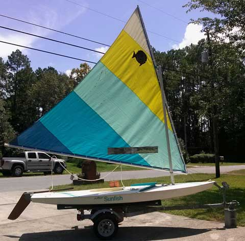 Sunfish, 1980s sailboat