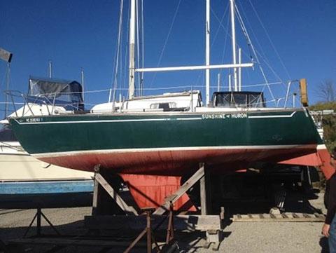 Tartan 27, M.O.R.C., 1972 sailboat