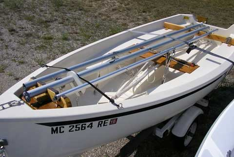 Trinka 12, 1995, sailboat