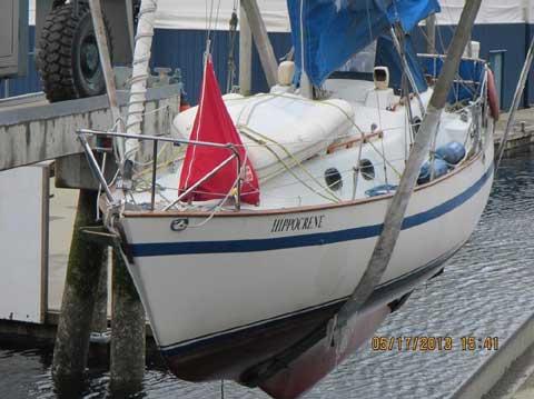 Vancouver 27, 1996 sailboat
