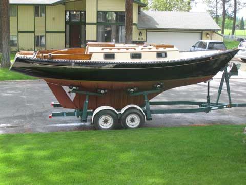 Vashon Tramp Harbor 25, 1978 sailboat