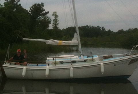 Venture of Newport Cutter, 1978 sailboat