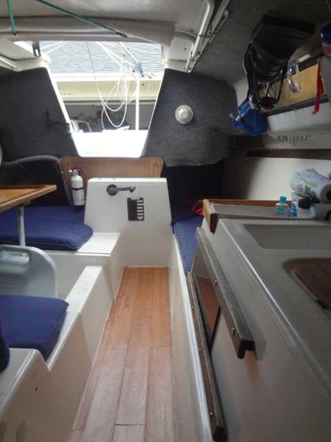 Macgregor Venture 25 1979 Port St Lucie Florida Sailboat For Sale From Sailing