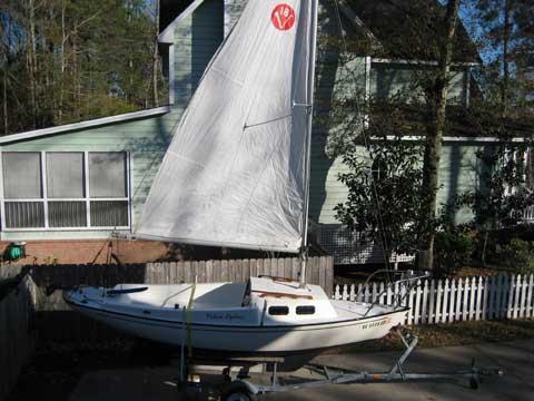 Victoria 18, 1983 sailboat